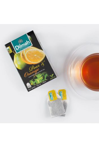 Dilmah Pear & Orange Flavoured Tea 20 tea bags