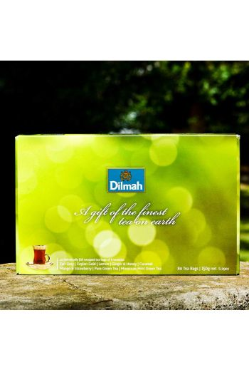 Dilmah Gift of Green 80 Tea Bags