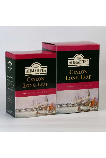 Ahmad Ceylon Long Leaf Loose Tea Carton 200g
