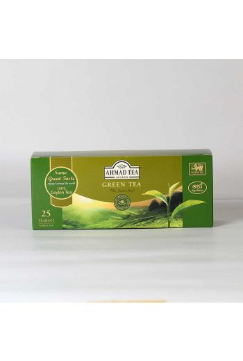 Ahmad Green Tea 25 Tea Bags