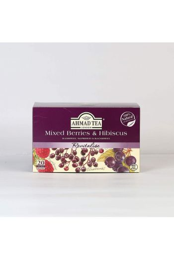 Ahmad Mixed Berry and Hibiscus 20 Foil Tea Bags