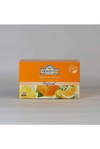 Ahmad Mixed Citrus 20 Foil Tea Bags