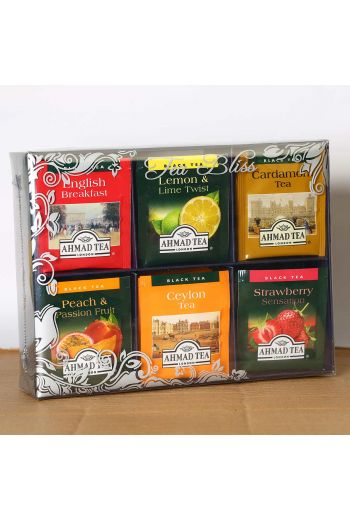 Ahmad Tea Bliss Fruit and Specialty Collection 72 Foil Tea Bags