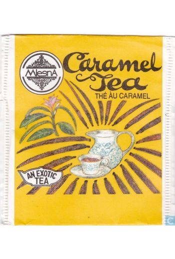 Mlesna Caramel Tea Cloth Pouch 50g