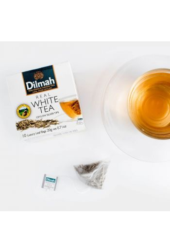 Dilmah Ceylon Silver Tips Real White Tea Bags