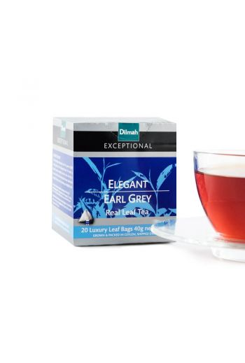 Dilmah Luxury Earl Grey Tea 20 tea bags