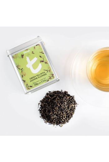 Dilmah Green Tea with Jasmine Flowers 100g Tea Leaf