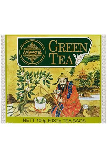 Mlesna Green Pyramid Tea Bags 15 Pack (Foil)