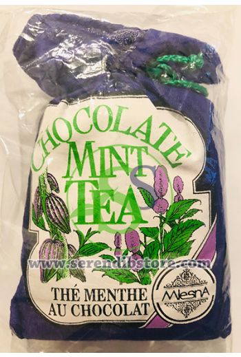 Mlesna Mint and Chocolate Tea Cloth Pouch 50g