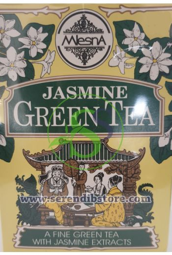 Mlesna Jasmine Green Tea Bags 50 Pack