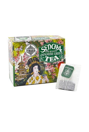 Mlesna Sencha Green Tea Bags 50 Pack