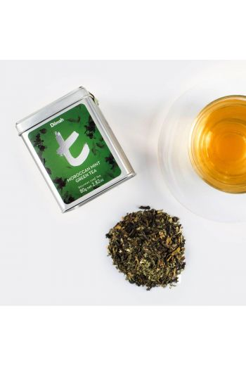 Dilmah Moroccan Mint Green 100g Tea Leaf