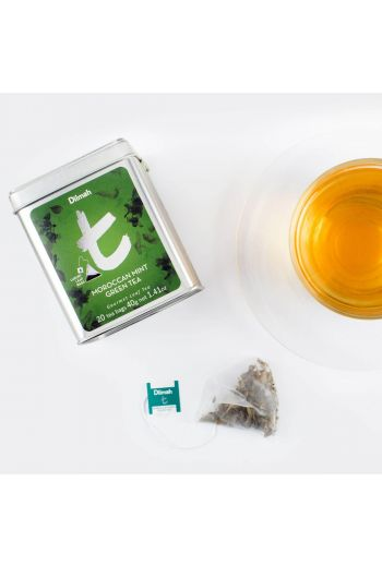 Dilmah Moroccan Mint Green 20 Tea Bags