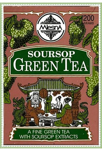 Mlesna Soursop Green Pyramid Tea Bags 15 Pack (Foil)