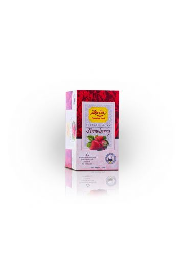 Zesta Strawberry Flavored Tea Bags 25pk (Foil)