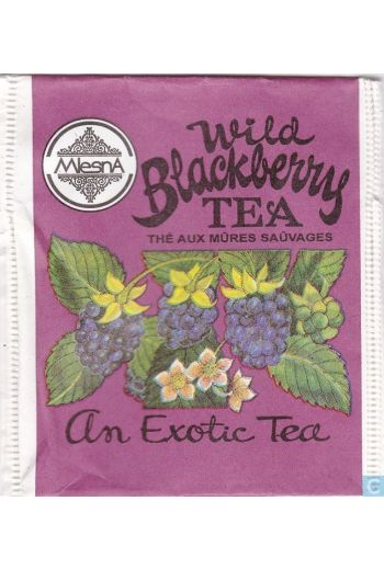 Mlesna Wild Blackberry Tea Cloth Pouch 50g