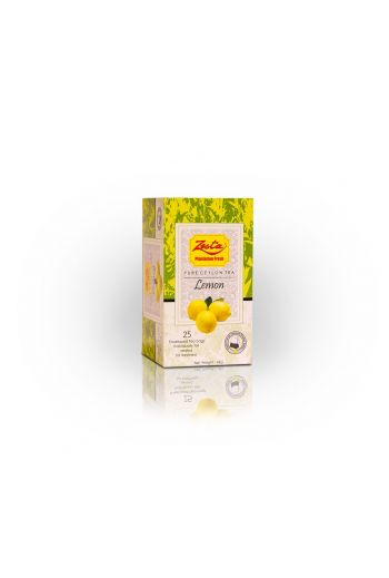 Zesta Lemon Flavored Tea Bags 25pk (Foil)