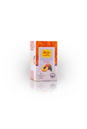 Zesta Peach Flavored Tea Bags 25pk (Foil)