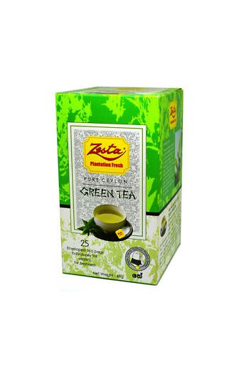 Zesta Pure Natural Green Tea Bags 20pk (Foil)